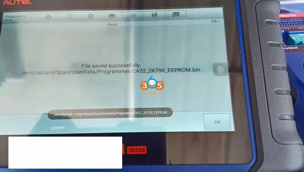 Autel Im508 Xp400 Pro Read Eeprom Cas2 Bmw 13