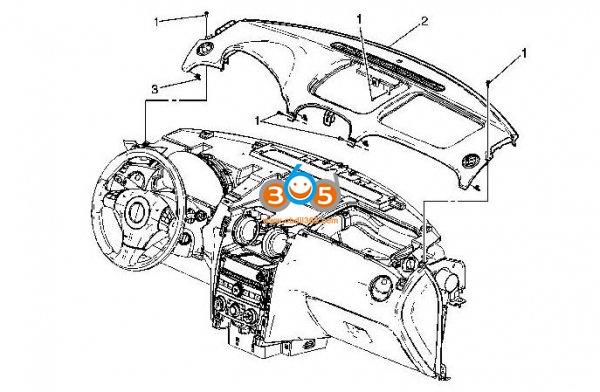 Change The Ambient Light Sensor On Chevy Hhr 01