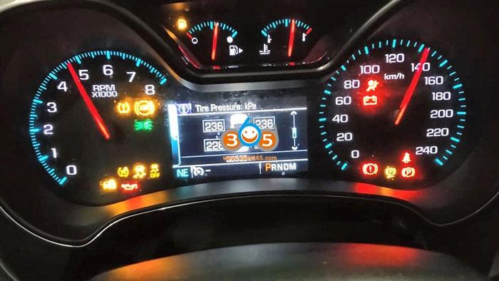 El 50448 Reprogram 2019 Chevy Impala Tpms Sensors 16