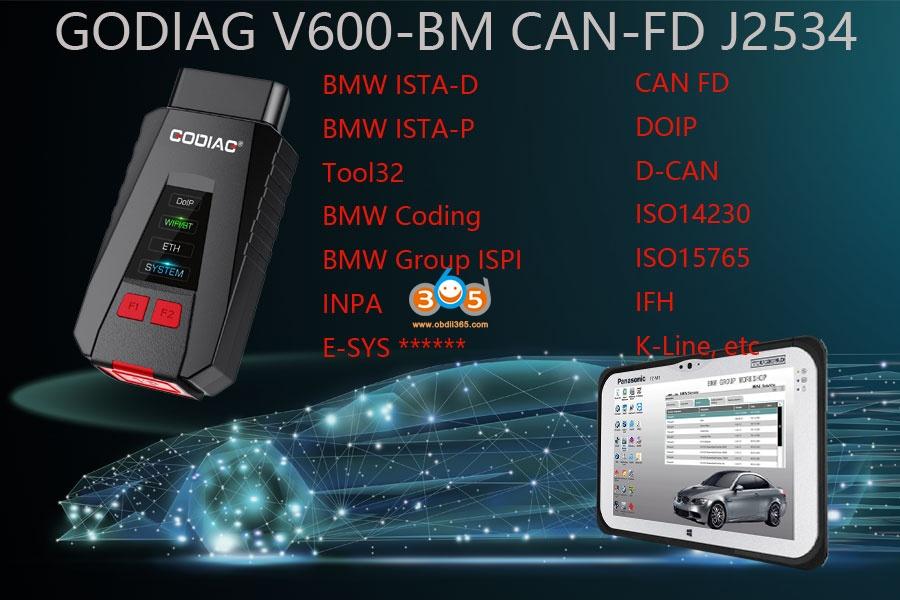 Godiag V600 Vs Bmw Icom A2 A3 Next 01