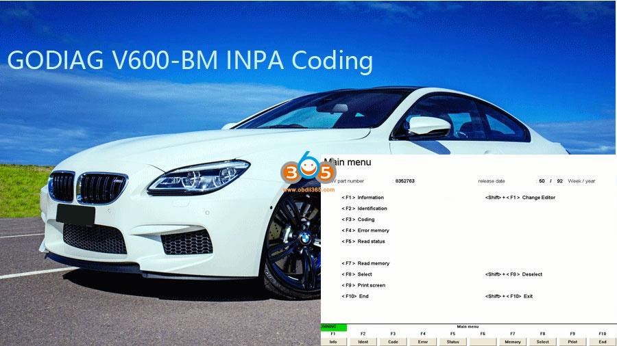Godiag V600 Vs Bmw Icom A2 A3 Next 07