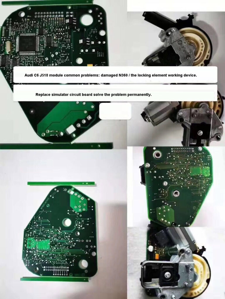 How To Use Audi A6l Q7 J518 Simulator 8e Chip 02