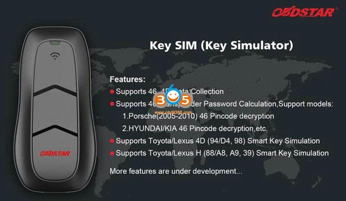 Obdstar Key Sim Emualtor