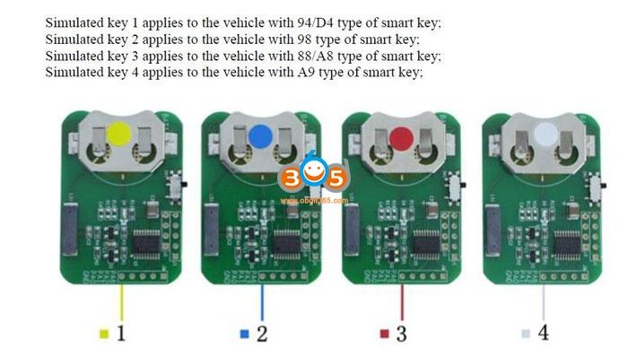 Obdstar Smart Key Emulator 4
