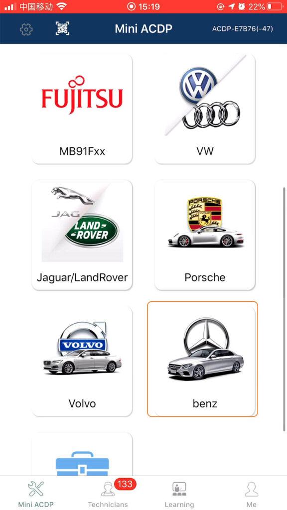 Yanhua Mini Acdp Benz Gearbox Clone Refresh 01