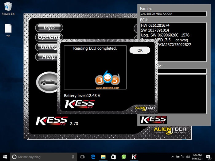 Kess V2 V270 3