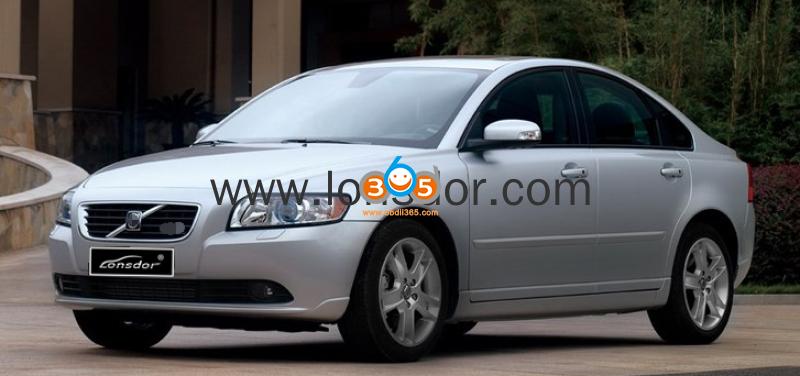 Lonsdor K518ise Volvo V50 S40 2004 2012 Key Programming 17