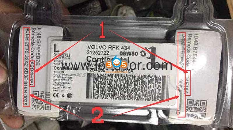 Lonsdor K518ise Volvo V50 S40 2004 2012 Key Programming 19