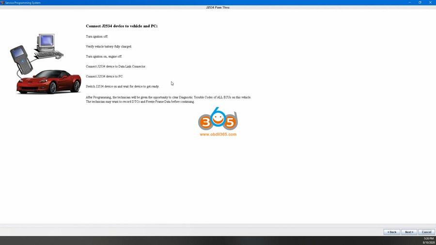 Using Mdi2 Clone Sds To Program Ecm 16