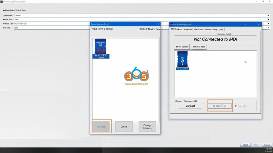Using Mdi2 Clone Sds To Program Ecm 19