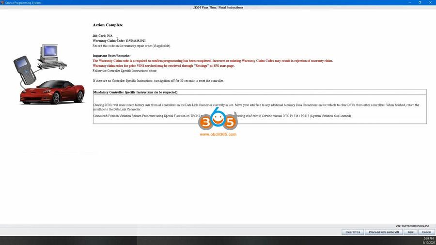 Using Mdi2 Clone Sds To Program Ecm 27
