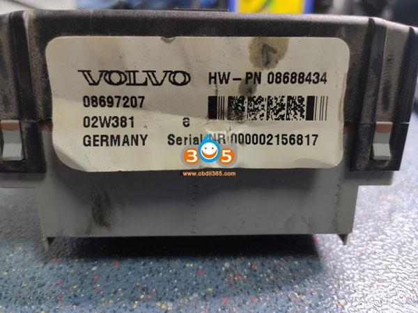 Volvo Cem Flash 28F400 3