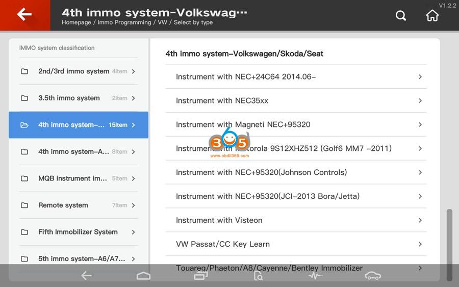 Vvdi Key Tool Plus Vw 4th Immo Programming 02