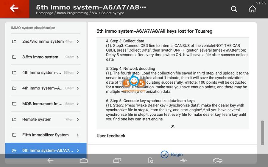 Vvdi Key Tool Plus Vw 5th Immo Programming 02