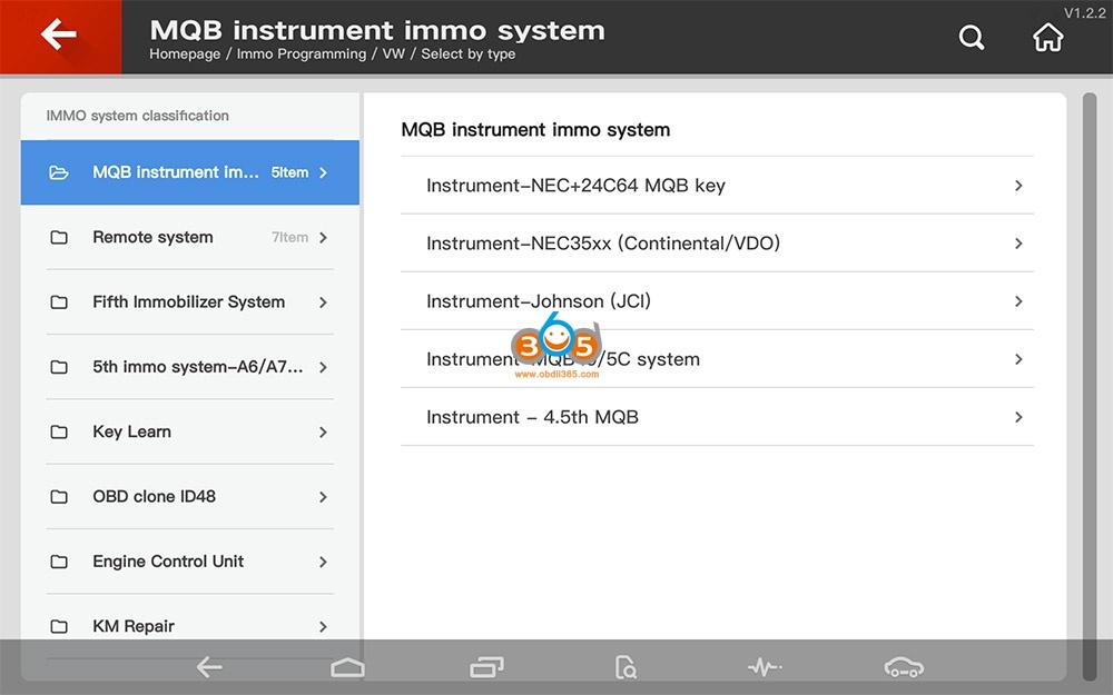Vvdi Key Tool Plus Vw Mqb Programming 01