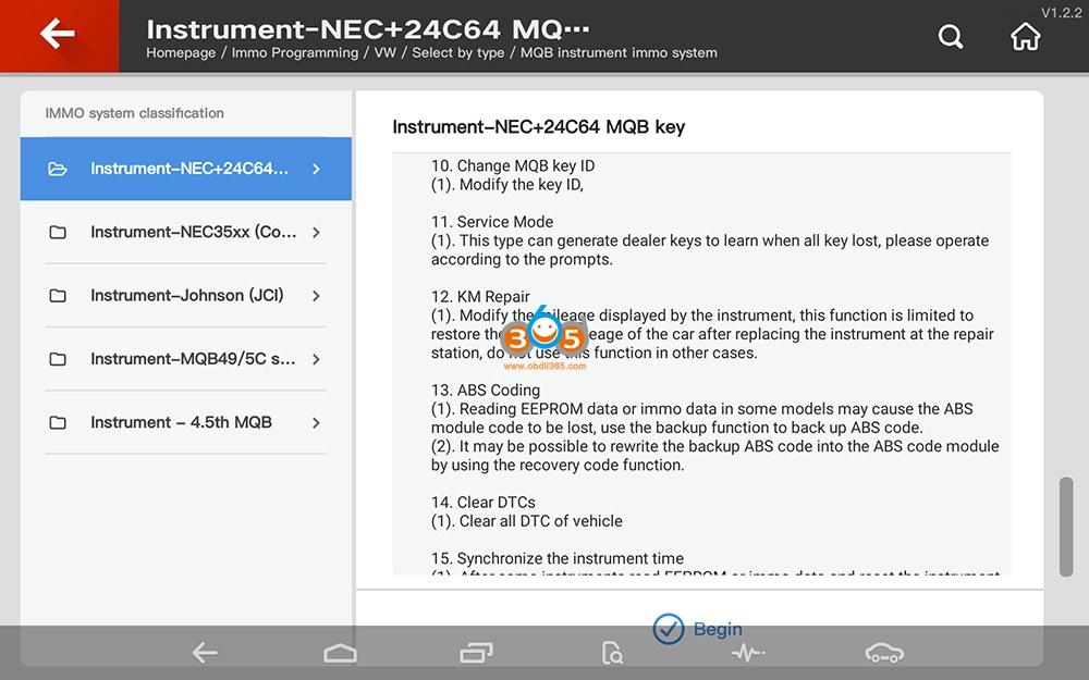 Vvdi Key Tool Plus Vw Mqb Programming 04