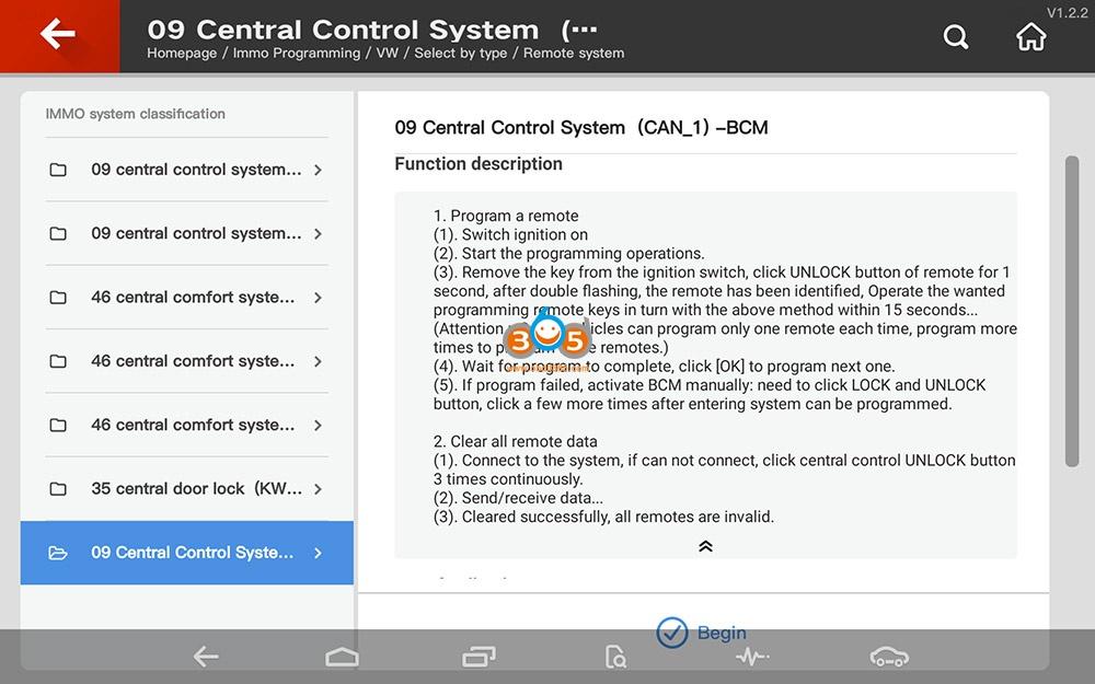 Vvdi Key Tool Plus Vw Remote System Programming 07