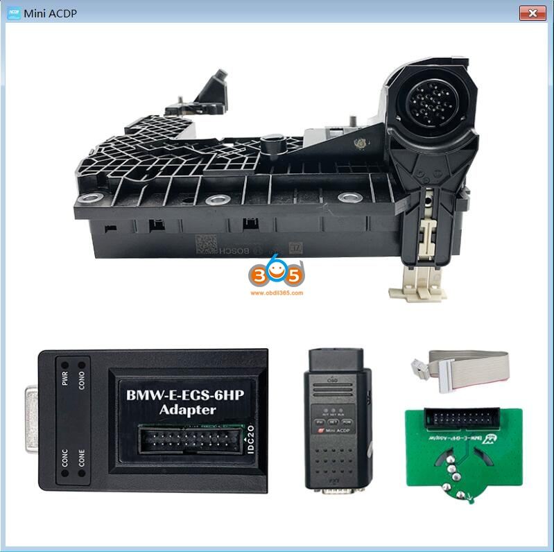 Yanhua Acdp Clear Bmw E Series Egs 6h Gs19d Isn 02