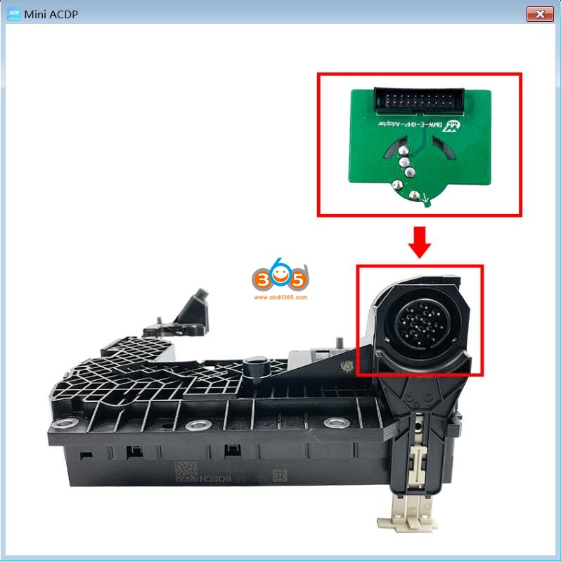 Yanhua Acdp Clear Bmw E Series Egs 6h Gs19d Isn 03
