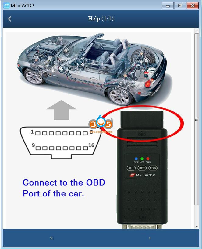 Yanhua Acdp Clear Bmw E Series Egs 6h Gs19d Isn 22