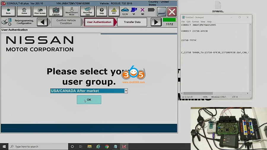 Nissan Pcm Programming With Godiag Gt100 16