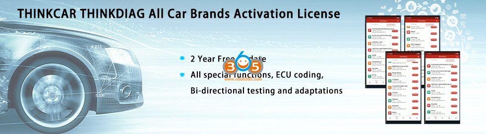 Thinkdiag Full Brand License