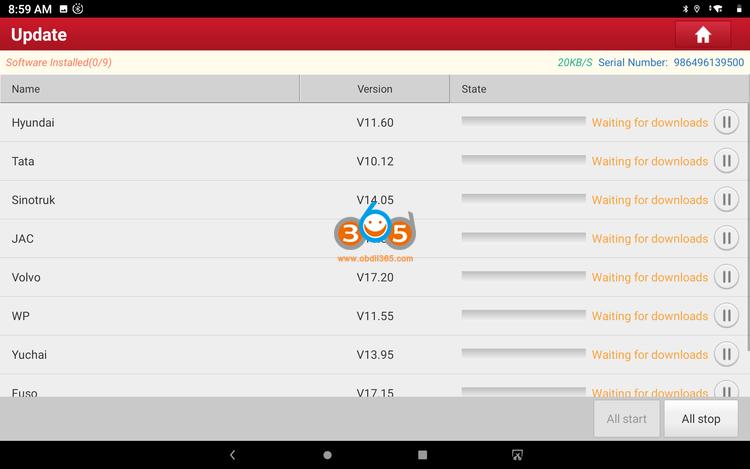 X431 V Plus Hdii Tool Update 07