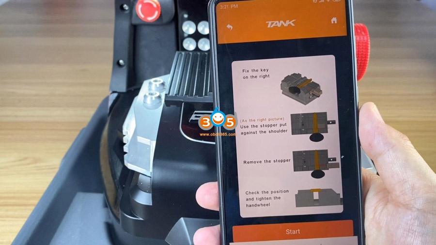 2m2 Magic Tank Motorcycle Key Cutting Update 6