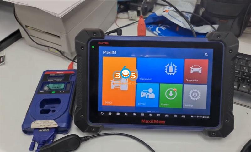 Autel Im608 Mb Test Tool W209 W211 Password 2
