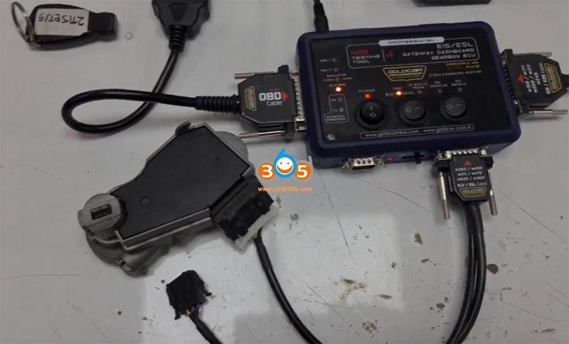 Autel Im608 Mb Test Tool W209 W211 Password 22