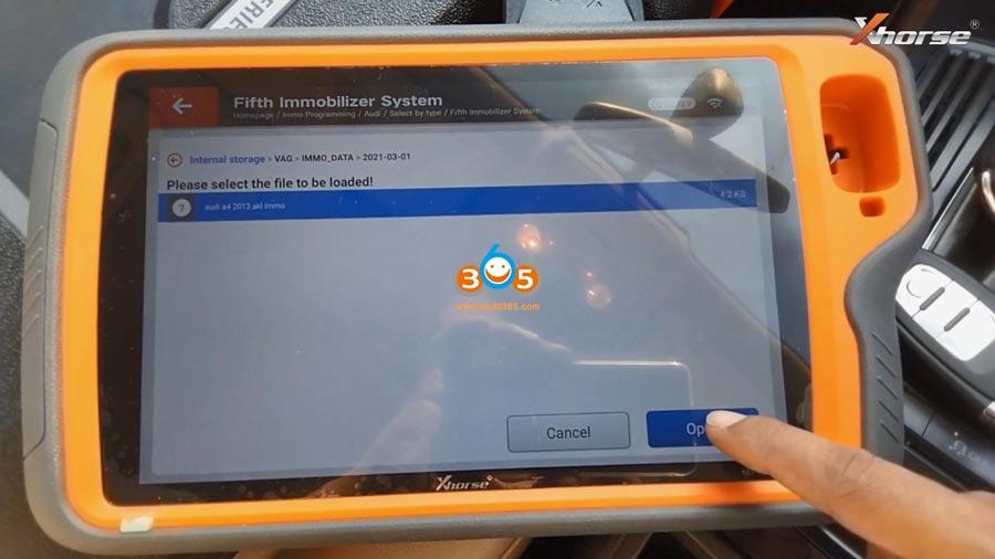Vvd Key Tool Plus Audi A4 2013 Akl 15