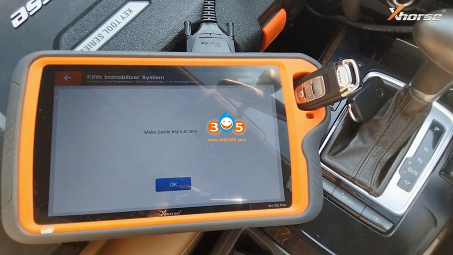 Vvd Key Tool Plus Audi A4 2013 Akl 17