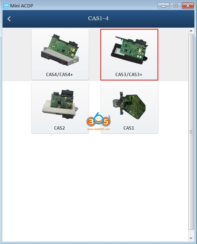 Yanhua Acdp Replace Cas3 Dme 2