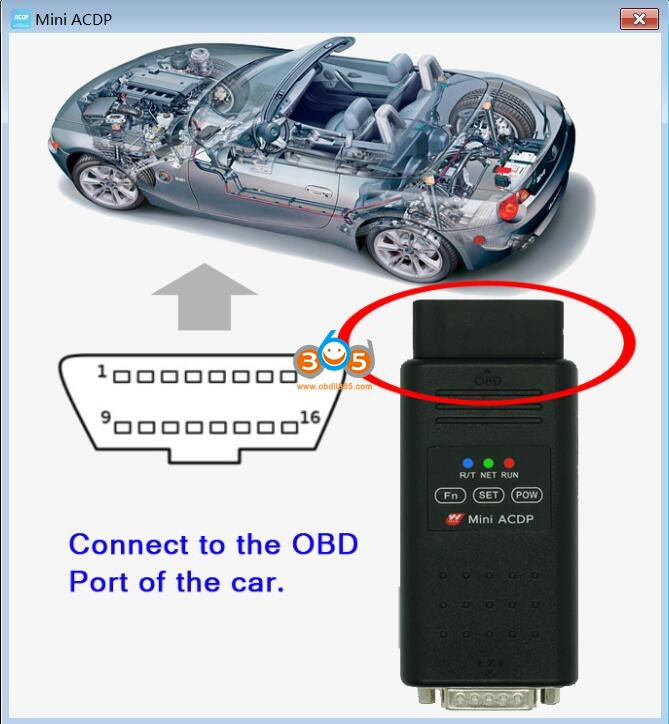 Yanhua Mini Acdp Read Write Cas Isn Obd Mode 02