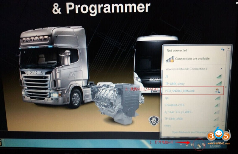 Configure Wifi Scania Vci3 1