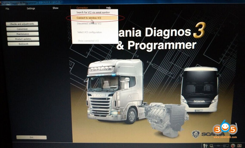 Configure Wifi Scania Vci3 4