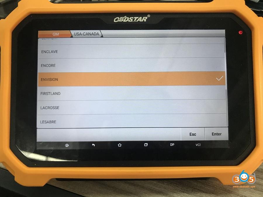 Obdstar Can Fd Adapter Program Gm 2021 2020 Key 05