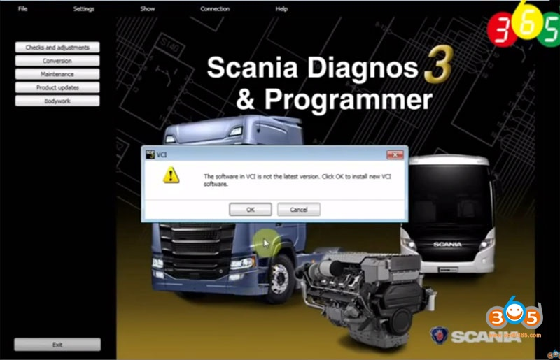 Update Scania Sdp3 Vci3 Firmware 1