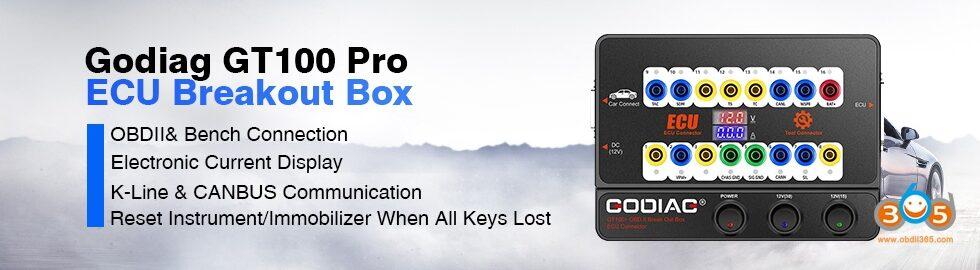 Godiag Gt100 Pro