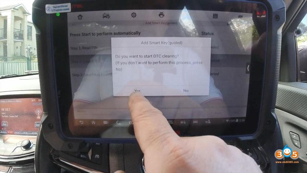 Holden Commadore Vf Program Key Autel Im608 15