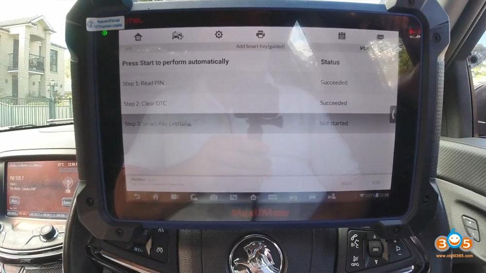 Holden Commadore Vf Program Key Autel Im608 16