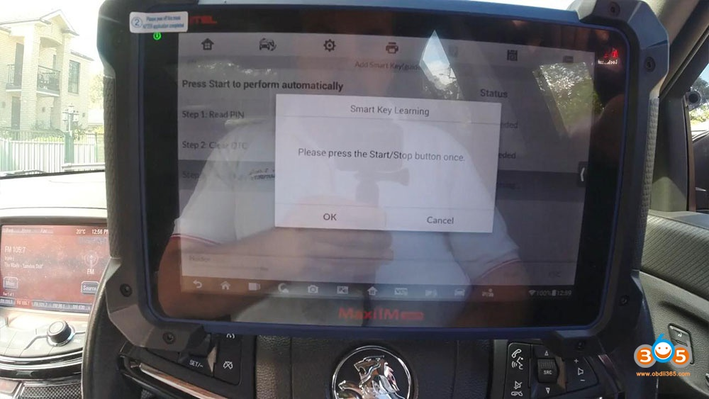 Holden Commadore Vf Program Key Autel Im608 18