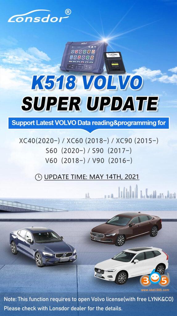 Lonsdor Volvo License