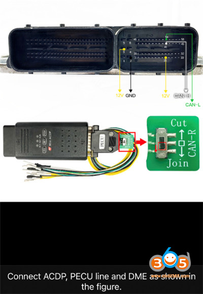 Mini Acdp Refresh Benz Dme Ism No Soldering 5