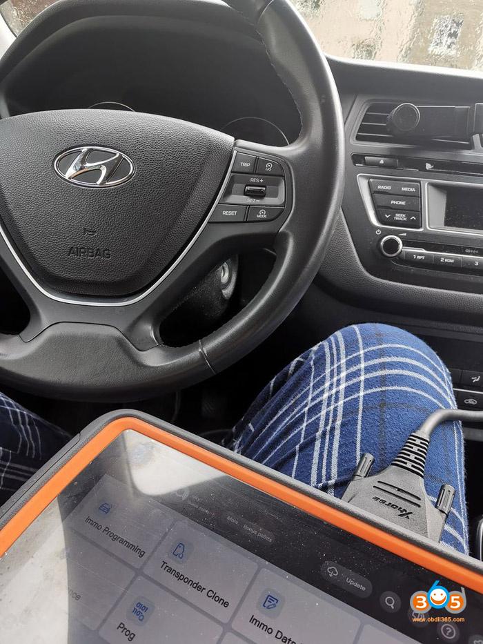 Program Hyundai I20 2016 Key 01