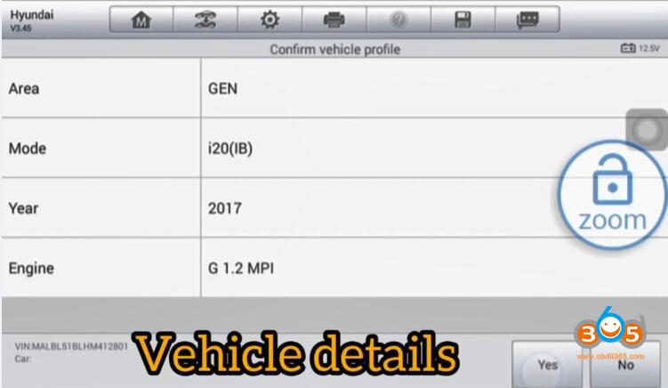 Program Hyundai I20 2016 Key 04