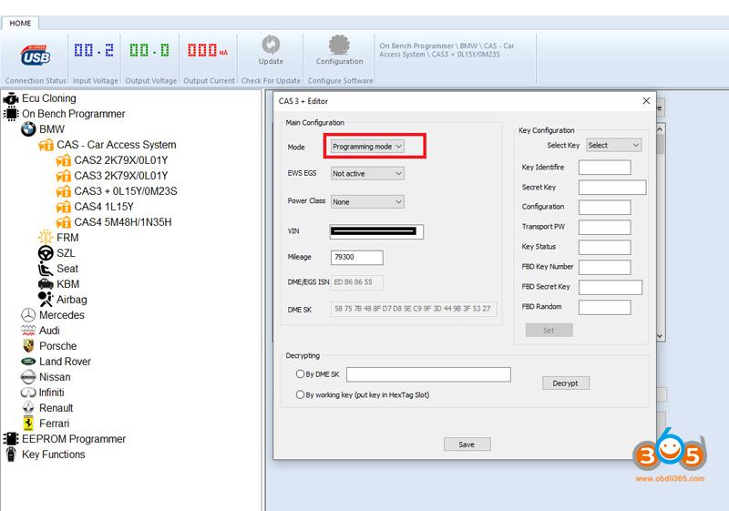 BMW CAS3 Data Currupt 3
