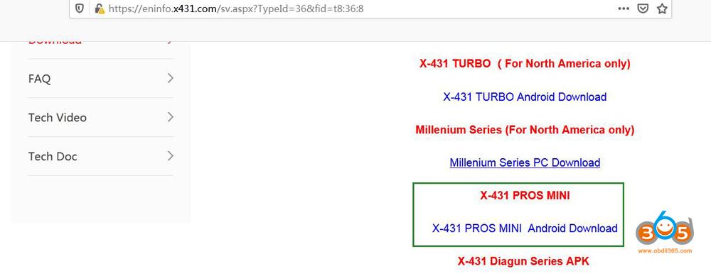 Launch X431 Pros Mini Disaccording 05