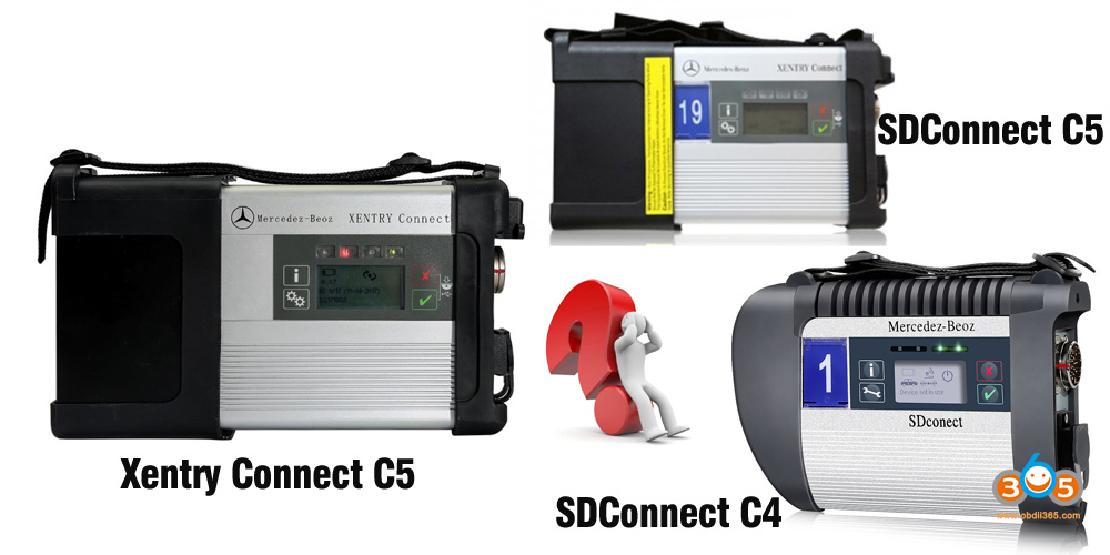 Xentry Connect C5 Vs Sdconnect C5