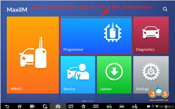 Autel Im608 Chip Communication Failed Solution 4